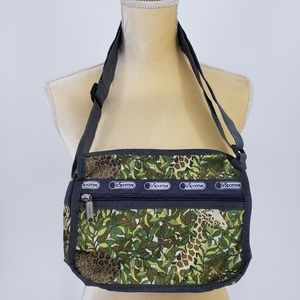 LeSportsac Jungle Animal Print Small Crossbody